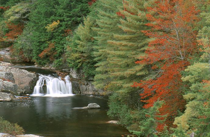 Linville falls waterfalls cross creek cabins log cabin for Linville falls cabin rentals